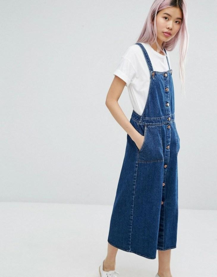 robe en jean longue tendance femme mode été printemps monki