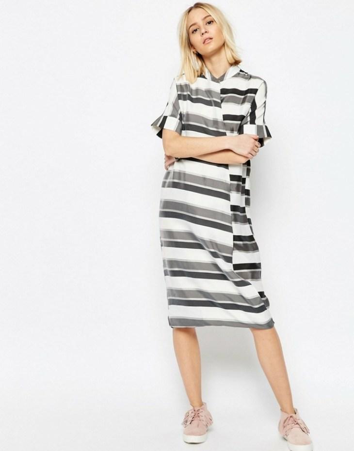 femme mode tendance 2016 été rayures tendances tenue