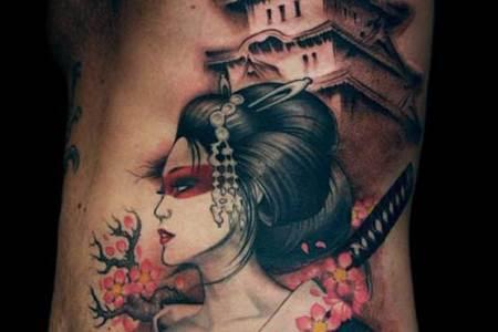 best anese geisha tattoo