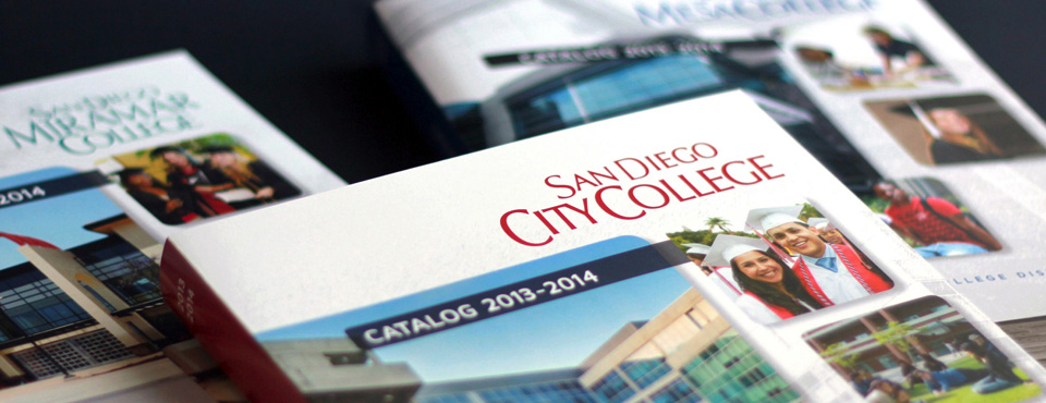 San Diego Community College District Catalogs 2013-14