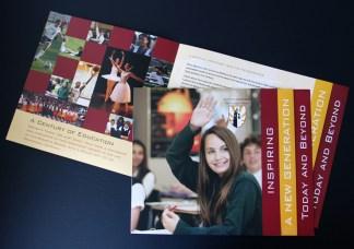 Centennial Fundraising brochure