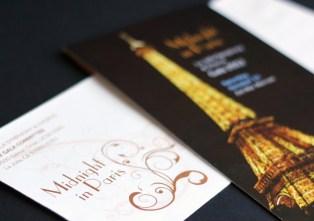La Jolla Symphony & Chorus Gala gala invitation package