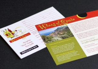 LJS&C wine invitation