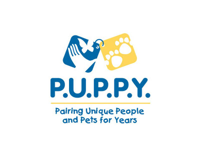image of P.U.P.P.Y. Pairing Unique People and Pets for Years logo