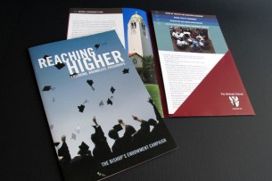 The Bishop's School Endowment Campaign brochure