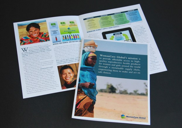 image of WomanCare Global brochure
