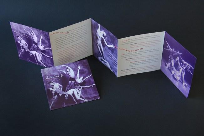 Malashock Dance & Company brochure
