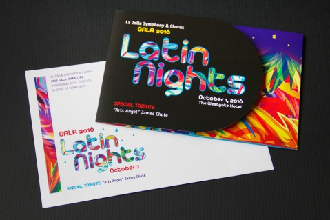 Latin Nights gala invitation