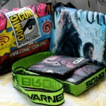 repurposed comic-con bags