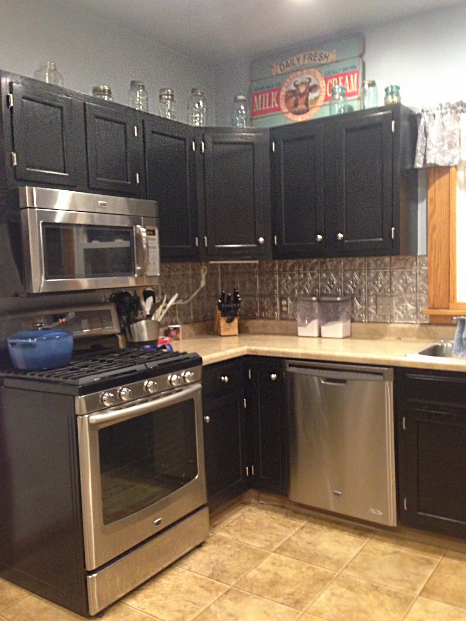 scd general finishes gel stain black kitchen cabinets chris d 20150211