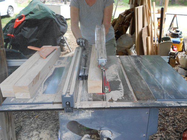 how to build table legs or posts from 2x4s Nikon pics 072