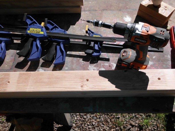 how to build table legs or posts from 2x4s SANY0546