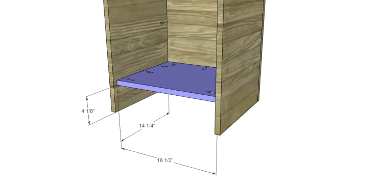 Free Furniture Plans to Build a File Cabinet_Bottom
