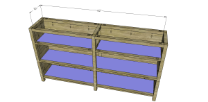 Plans to Build a Slim Sideboard 4