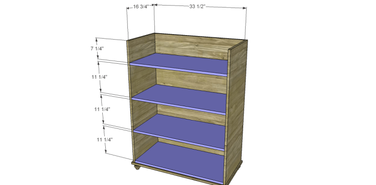 Free Plans To Build A Pier One Inspired Ashworth 5 Drawer