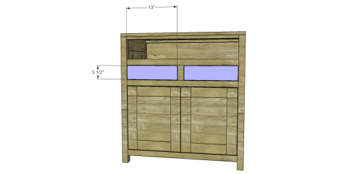Free Plans to Build a Grandin Road Inspired Adele Wine Cabinet 14