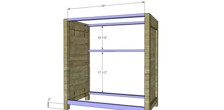 Free Plans to Build a Grandin Road Inspired Adele Wine Cabinet 5