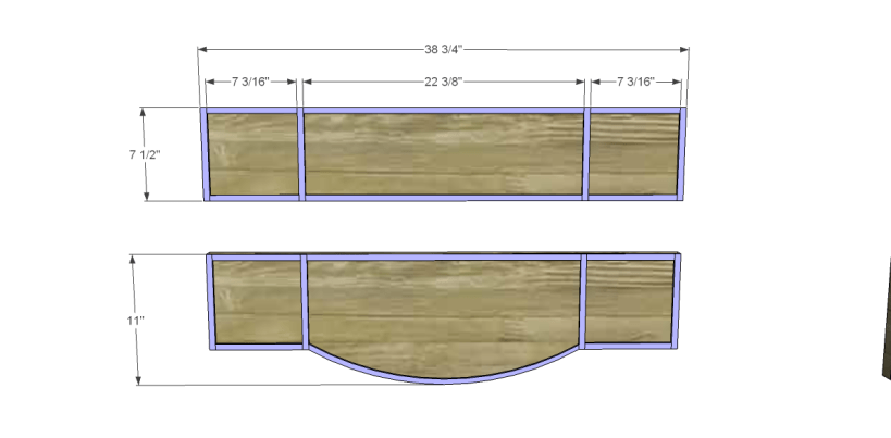 free furniture plans build gustavian console_Drawer Fronts 1