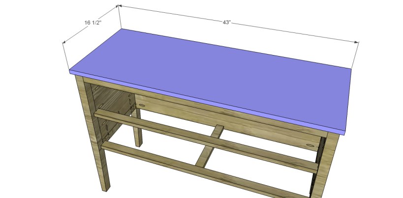 free furniture plans build gustavian console_Top