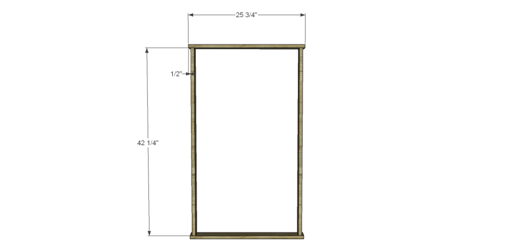 Free Plans to Build a Beadboard Drying Rack Med_Case Frame