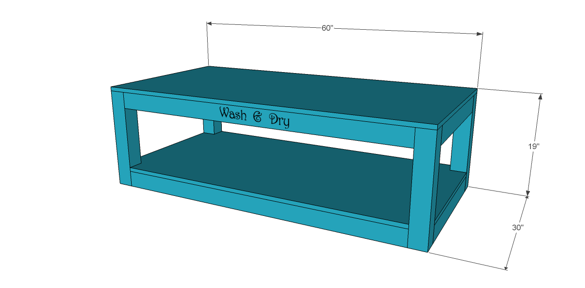 Free Plans To Build A Pedestal For A Washer And Dryer