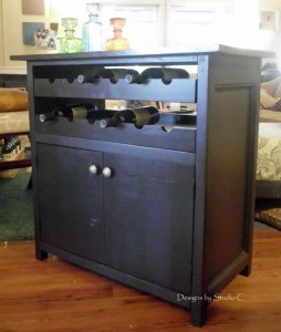 Free Plans to Build a Grandin Road Inspired Adele Wine Cabinet 2