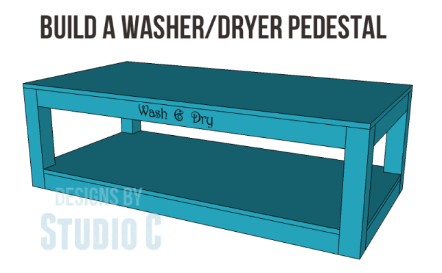 free plans to build a pedestal for a washer and dryer_Copy