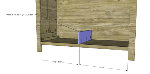 Free Plans to Build a 19th Century American Wardrobe_Drawer Divider
