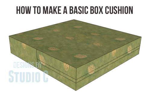 how to make a basic box cushion 6 copy
