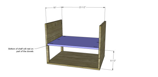 Free Plans to Build a One Kings Lane Inspired Harrison End Table_Shelf