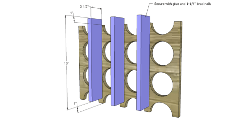 Free Plans to Build a Chesterton Wine Holder_Supports
