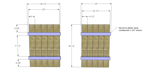 Free Plans to Build Robin's Planter Boxes_Panels 1