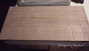 How to Make a Sign out of a Rustic Ammo Box Lid SANY1880