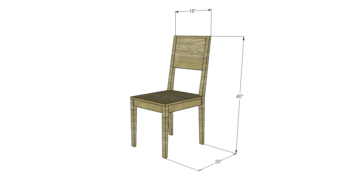 free plans to build a world market inspired tradesman chair