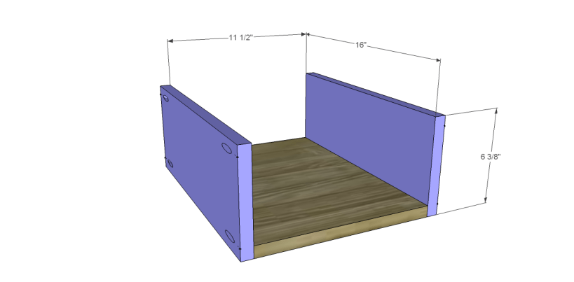 free plans to build a joss main inspired banyan end table_Drawer BS