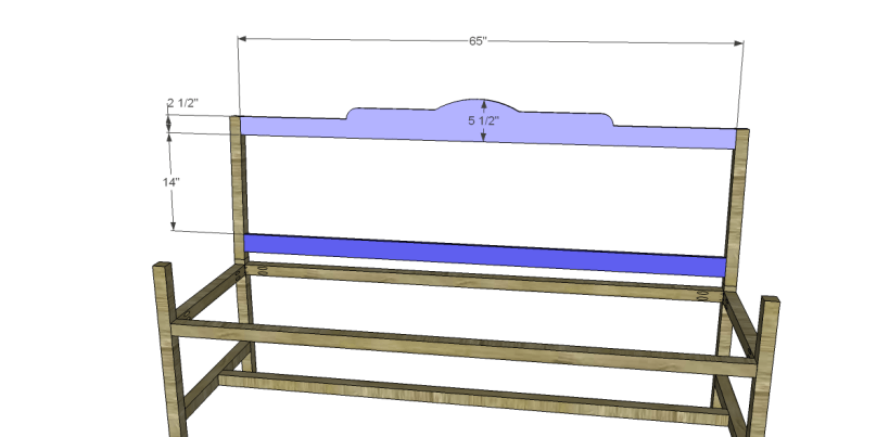 free plans to build a bench with arms_Back