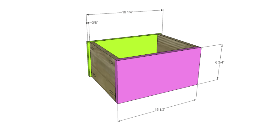 free plans to build a joss main inspired greene chest_Sm Drawer FB