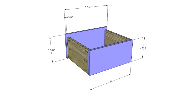 free plans to build a sereno desk_Drawer FB