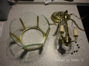 DIY Light Fixture Makeover  SANY2202