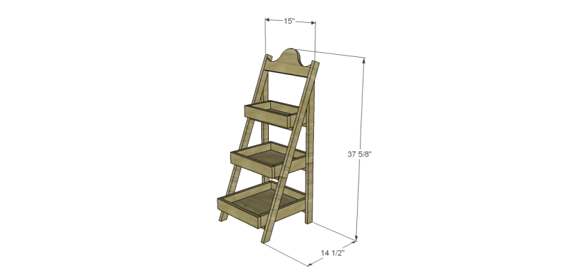 free plans to build a world market inspired chloe storage shelf