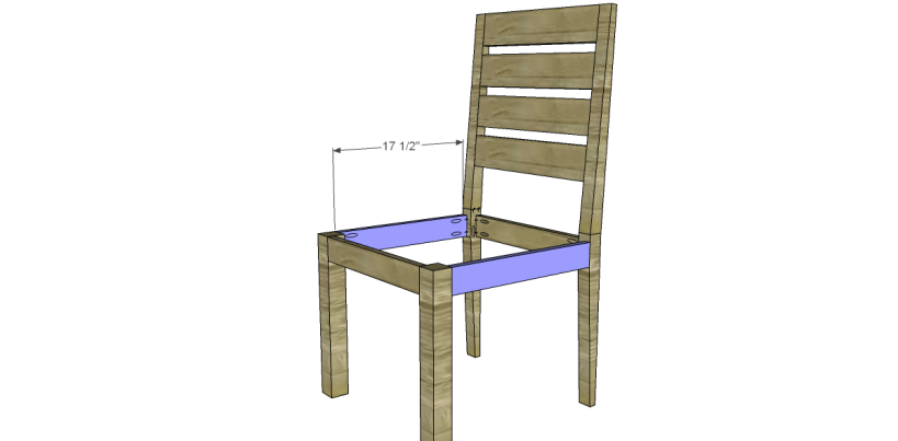 free plans to build a brooklyn chair_Stretchers