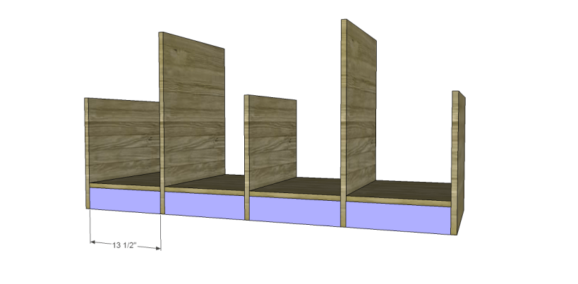 free plans to build a marconi media console_Kick Plates