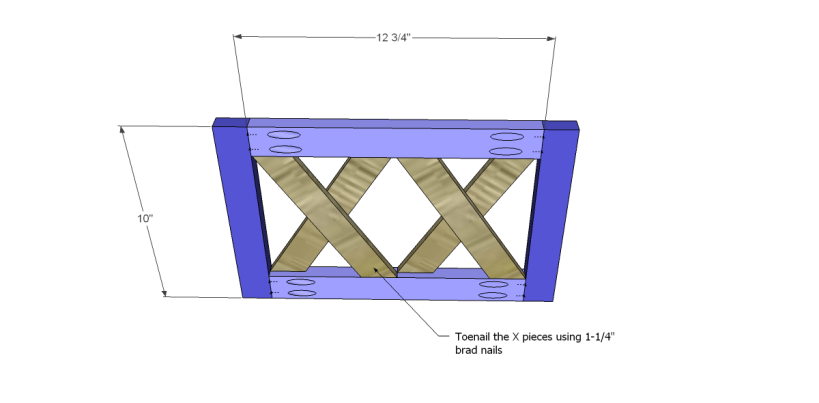 free plans to build a midland magazine rack_Sides 1