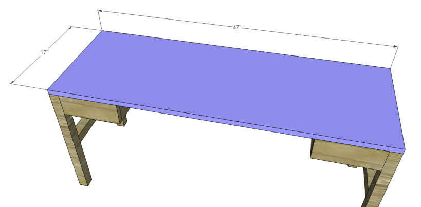 free plans to build a tura coffee table_Top
