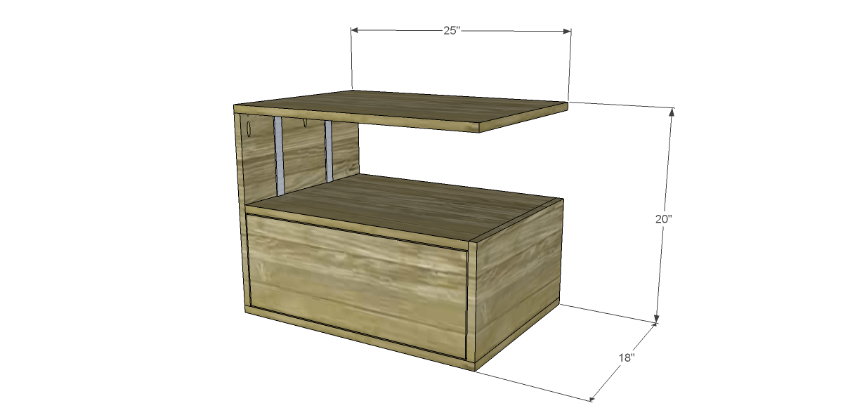 Free diy woodworking plans to build a leroy end table for End table plans free