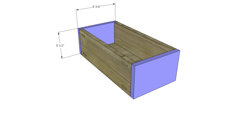 free DIY woodworking plans to build a custom bath vanity_Drawer FB