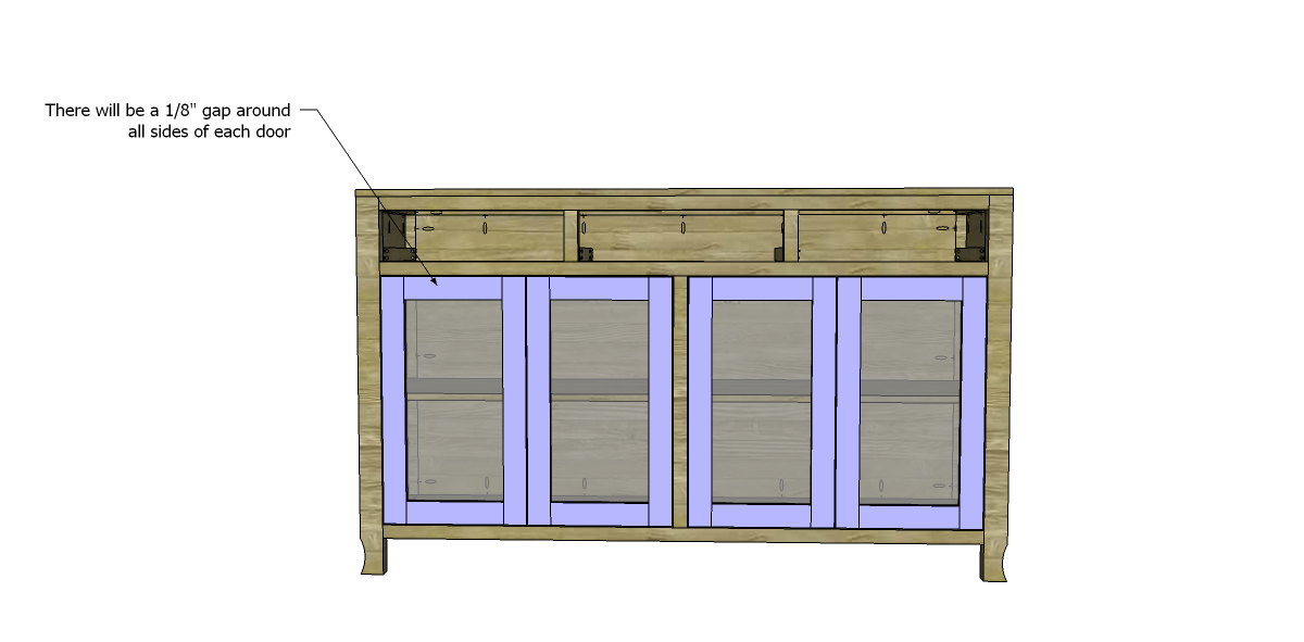 Free diy woodworking plans to build a glass door cabinet for Diy glass cabinet doors