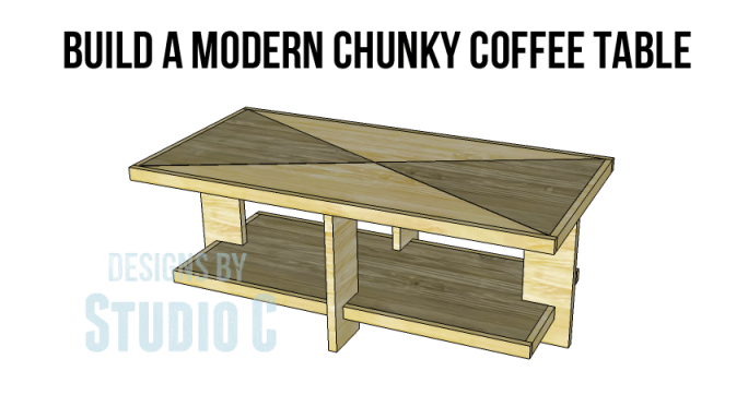 build modern chunky coffee table_Copy