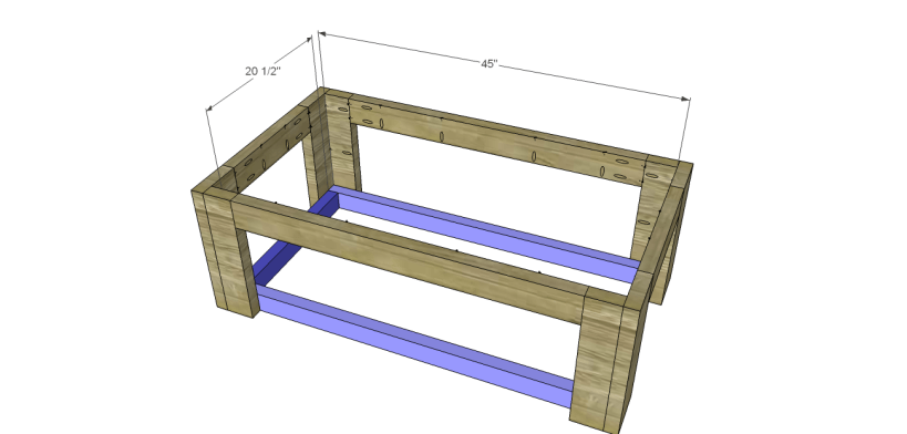 coffee table plans sam_Shelf Supports
