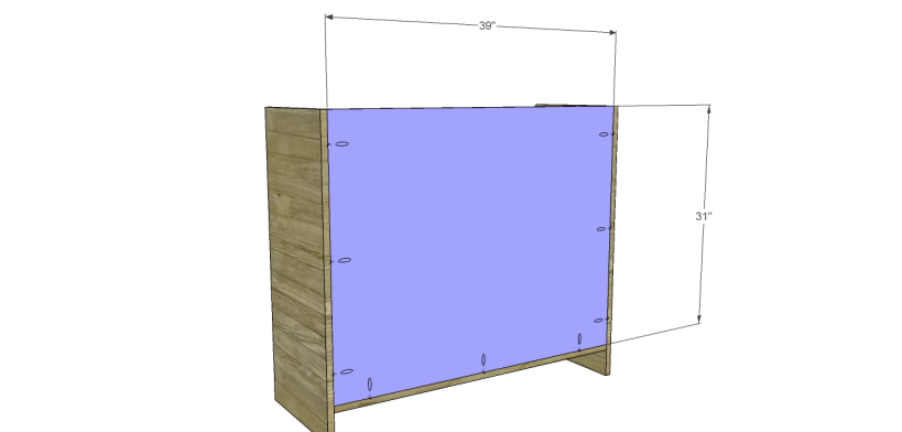 wide chest drawers plans_Back